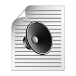 Simple TTS (Text To Speech) Icon