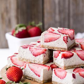 Strawberry Shortcake Bars (Gluten Free, Paleo + Vegan).