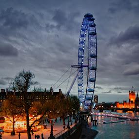 London by Brandon Rechten - Buildings & Architecture Public & Historical ( london, cityscape, city )