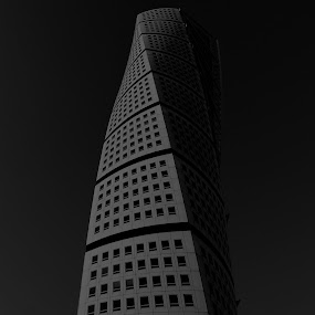 Twisted by Joachim Persson - Buildings & Architecture Homes ( twisted, malmoe, malmö, turning torso, bnw, apartments )