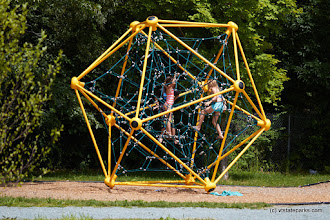 Photo: This is such a fun addition to the playground at Bomoseen State Park by Mike Conley