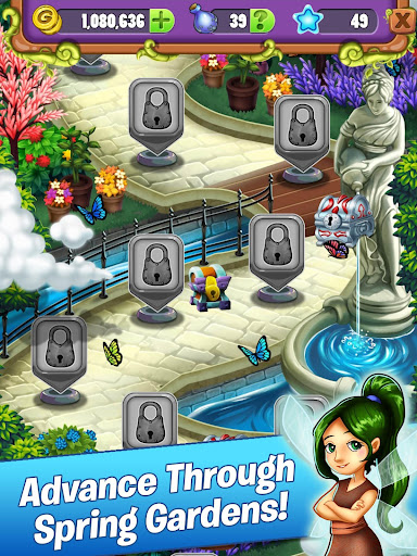 Mahjong Garden Four Seasons - Free Tile Game screenshots 12