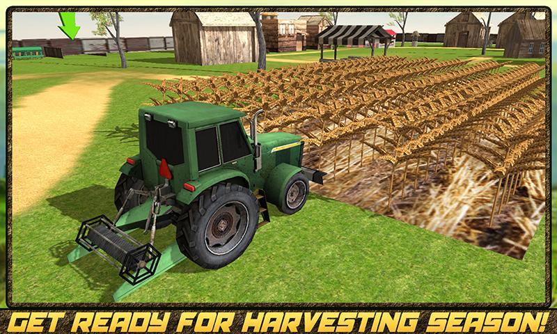 android Hay Farm Plow Truck Driver Screenshot 0