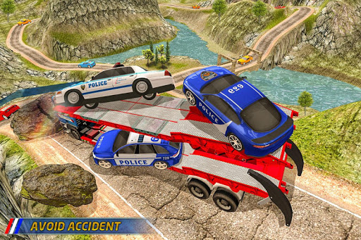 Transport Truck Police Cars: Transport Games for PC
