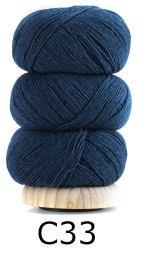Geilsk Bomull & Ull, blå 33