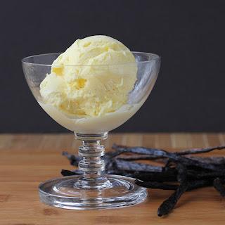 Frozen Vanilla Bean Custard.