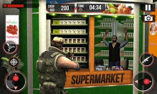 スーパーマーケットシュータードライブスルー