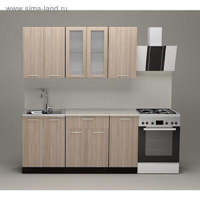 Кухонный гарнитур Светлана стандарт, 1600 мм