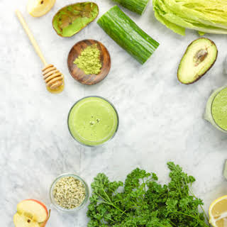 Super Healthy Green Smoothie.