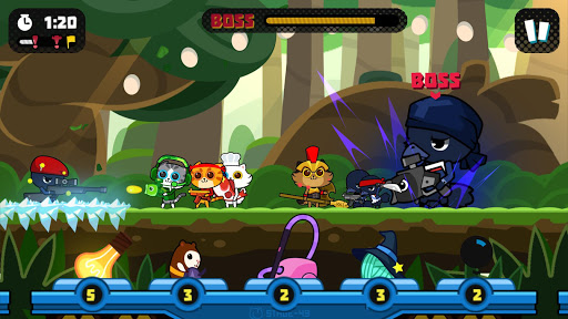 Naughty Kitties Express game (apk) free download for Android/PC/Windows screenshot