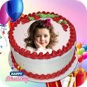 Name On Birthday Cake - Photo, birthday, cake icon