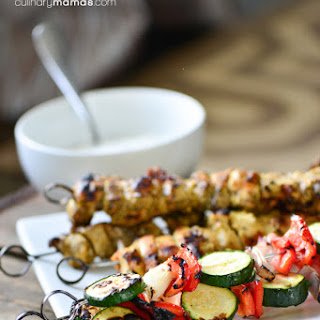 Indian Chicken Skewers