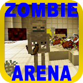 Tải Game Bản đồ PVP ZombieArena cho MCPE editon