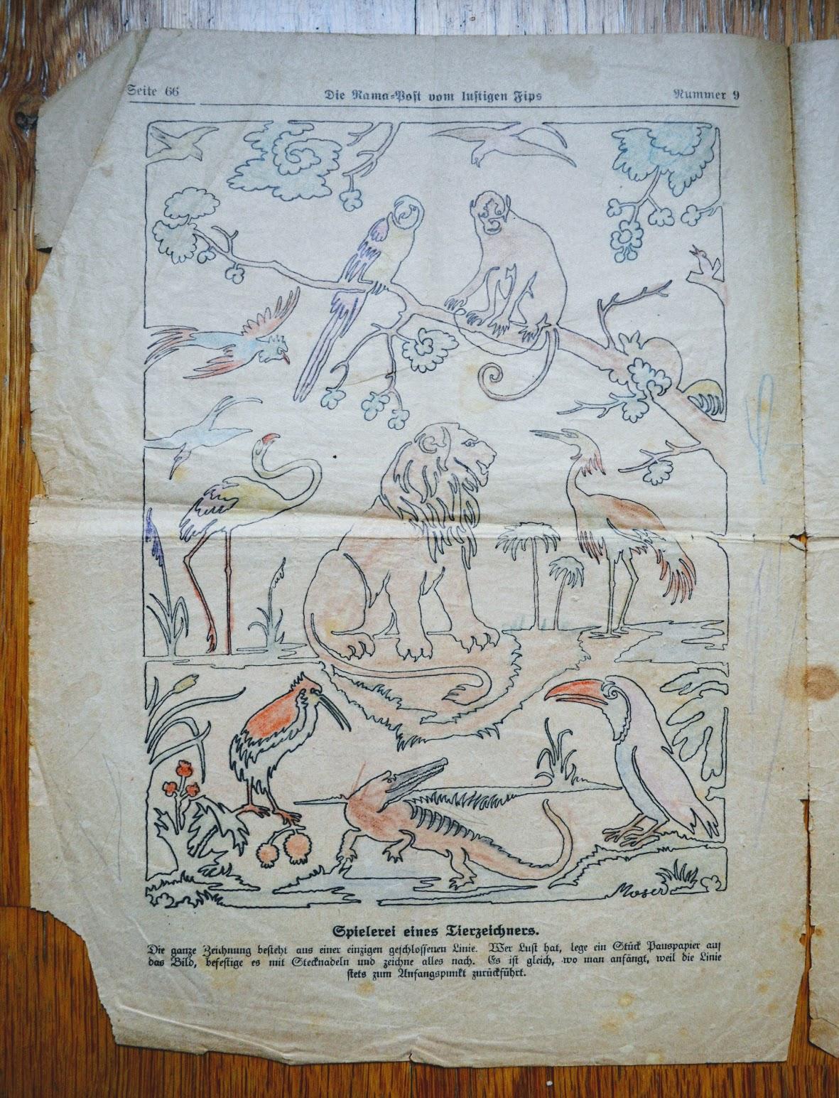 Die Rama Post mit dem lustigen Fips - 1929