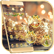App Christmas Gold Snowball Theme Wallpaper APK for Windows Phone