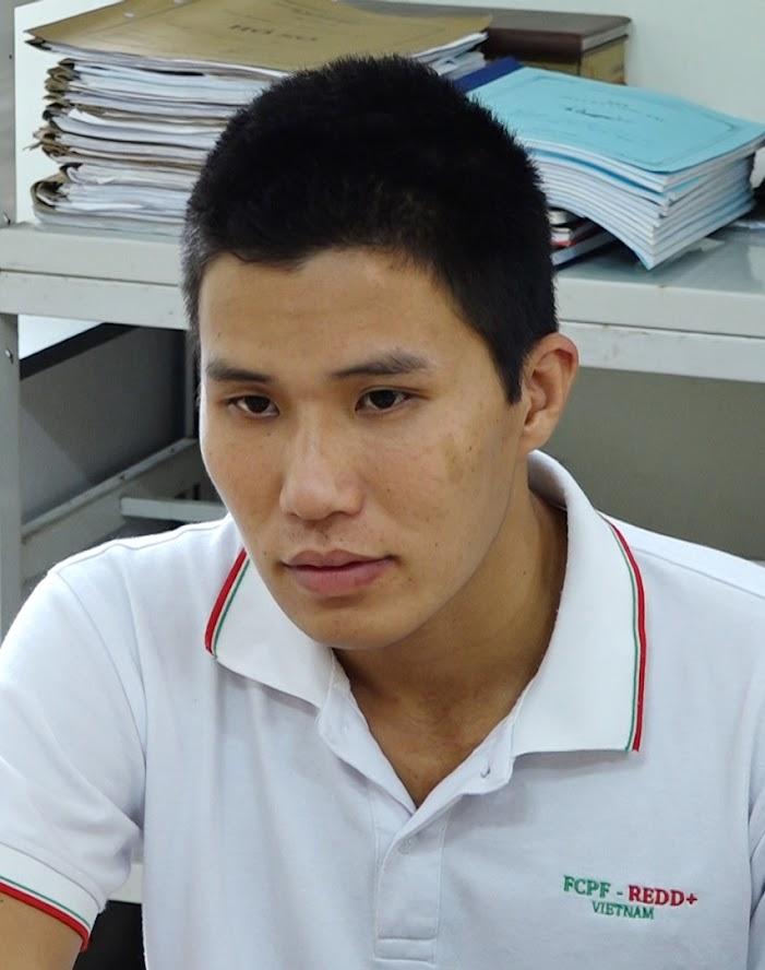 Đối tượng Trần Nam Thắng tại cơ quan điều tra