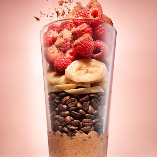 Mocha Berry-Almond Smoothie