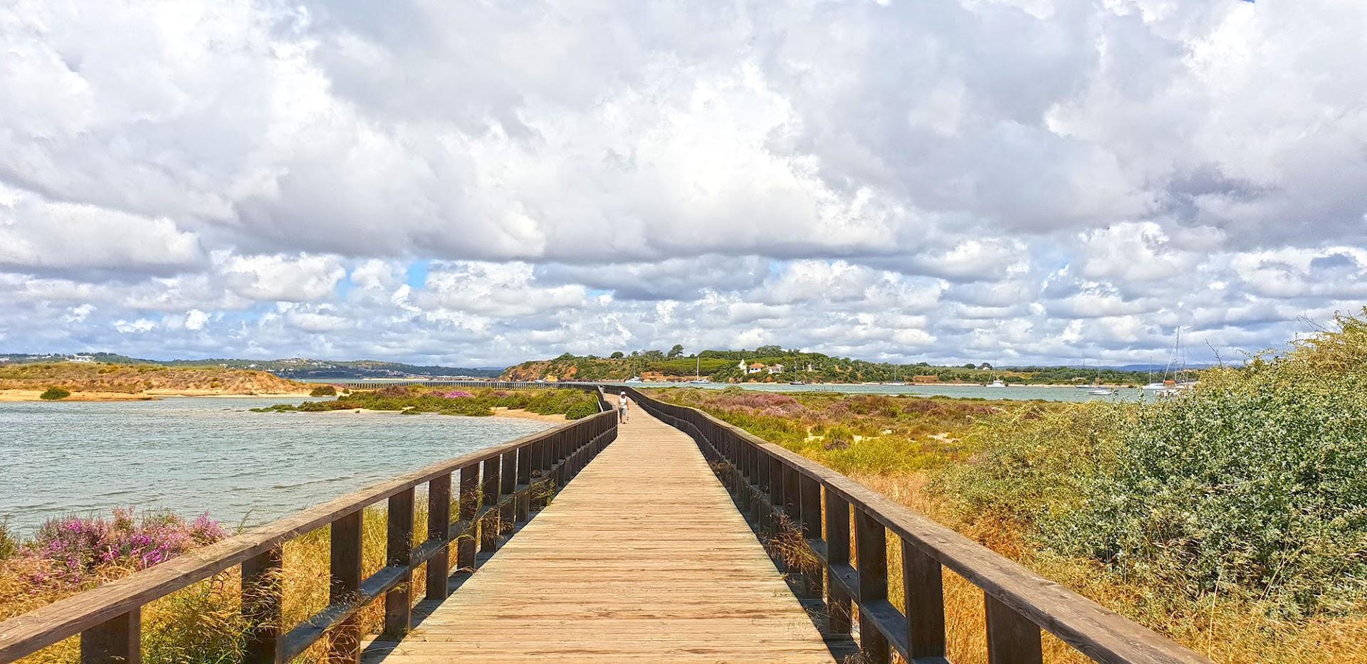 TRILHO AO SABOR DA MARÉ nos Passadiços da Ria de Alvor -  PTM PR2, um Algarve diferente