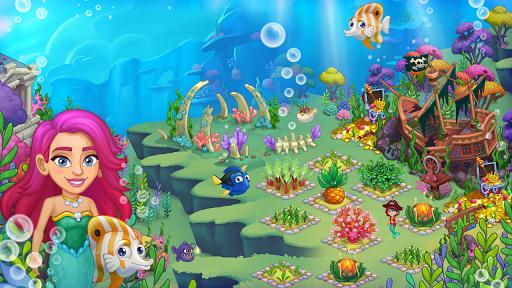 Aquarium Farm: fish town, Mermaid love story shark screenshots 7