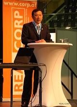 Photo: Shi Nan, Secretary General of UPSC - Urban Planning Society of China