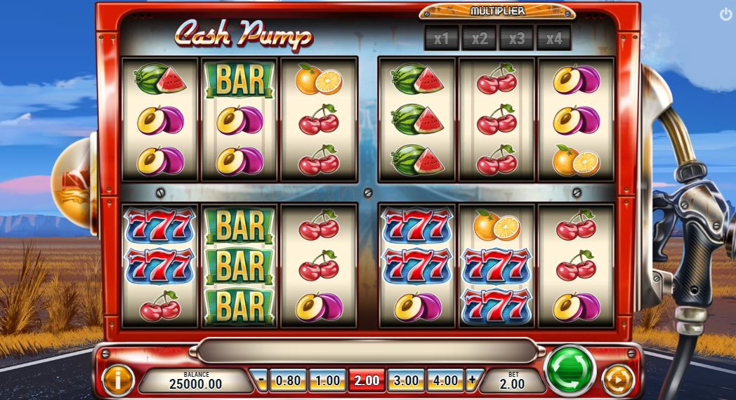 Cash Pump online slot from PlaynGo - Scatters Casino