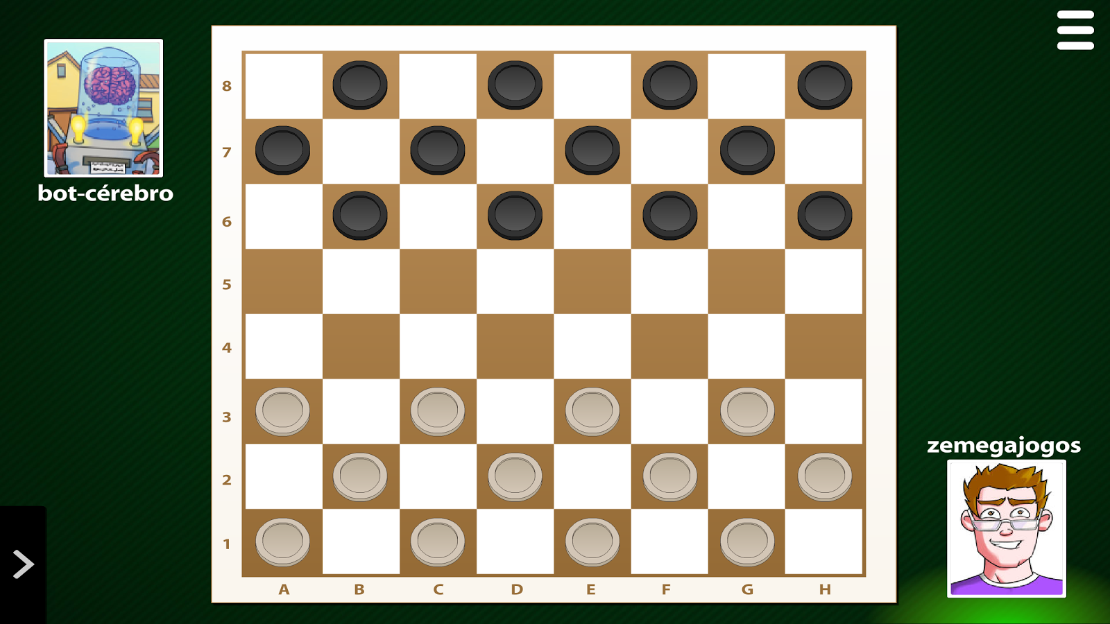 play checkers online against computer hard