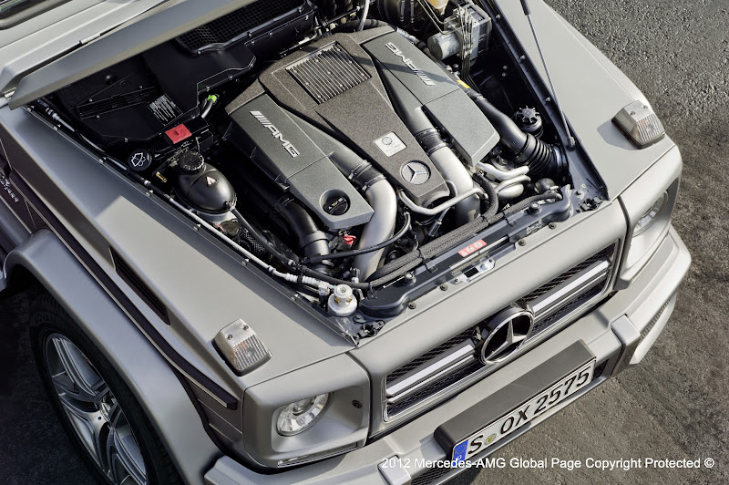 Photo: The All-New G 63 AMG and G 65 AMG