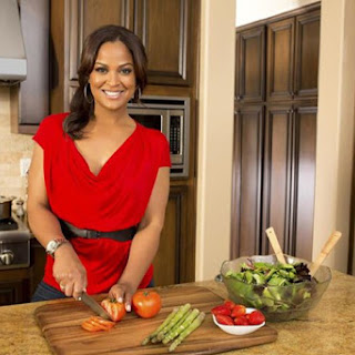 Laila Ali's Oven Fried Chicken.