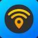 WiFi Map マップ - 無料のパスワードとホットスポット
