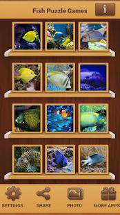 Ryby Puzzle - náhled