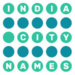Word Finder Indian City Names Icon