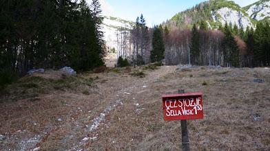 Photo: začetek na Mangartski planini