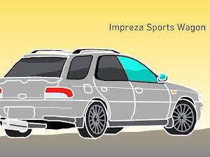 インプレッサ スポーツワゴン GF8のカスタム事例画像 baffiさんの2020年11月19日00:46の投稿