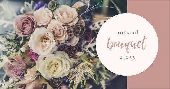 Natural Bouquet Class - Facebook Event Cover Template
