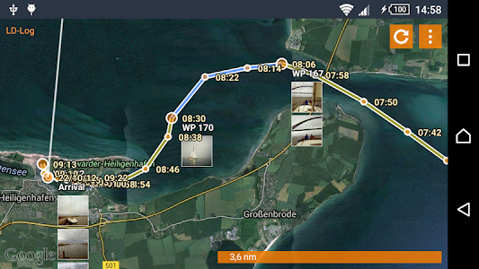 LD-Log - GPS Tracker & Logbook screenshot 5