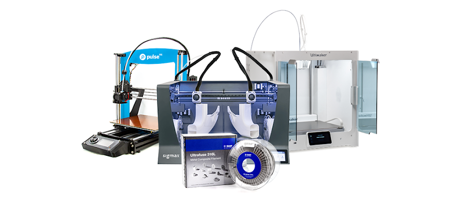 Graduate from 3D printing thermoplastics to metal-polymer composite material using BASF Ultrafuse 316L Filament on a standard desktop 3D printer.