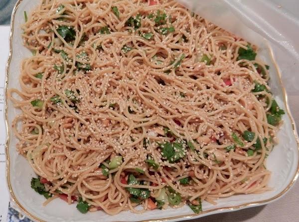 Sesame And Cilantro Vermicelli Salad Recipe
