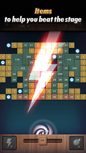 Swipe Brick Breaker: The Blast - screenshot