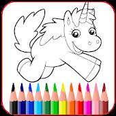 Tải Game Unicorn Coloring Book