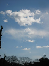Photo: 北風と太陽(本館からICU教会の上を撮影)