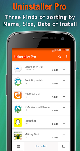 Uninstaller App PRO : uninstall apps & app remover for PC