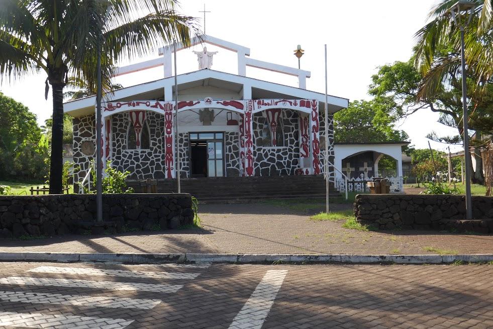 Church in Hanga Roa