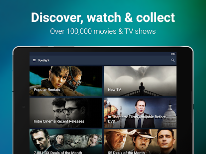 VUDU Movies & TV- screenshot thumbnail