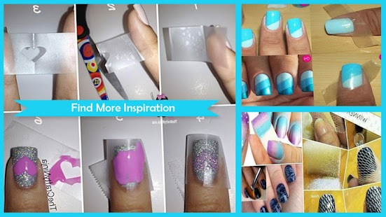 DIY Easy Nail polish tips - náhled