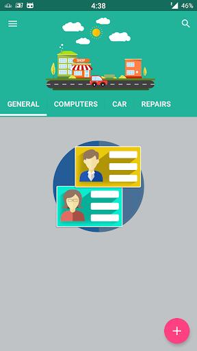 Business Card Holder 7.65 screenshots 1