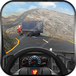 Off Road Cargo Truck Driver Icon
