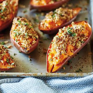 Twice-Baked Sweet Potatoes.