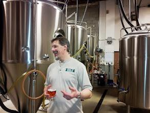 Photo: King Street Brewing visit.