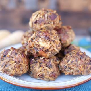 Breakfast Meatballs.