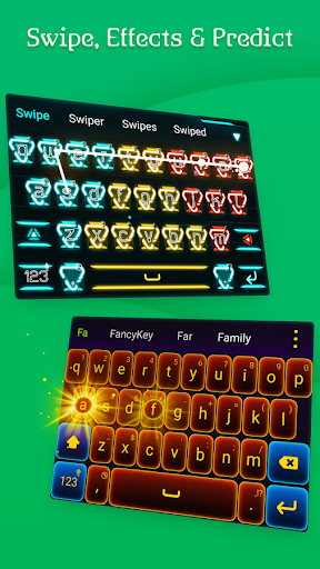 FancyKey Keyboard - Cool Fonts, Emoji, GIF,Sticker  screenshots 5